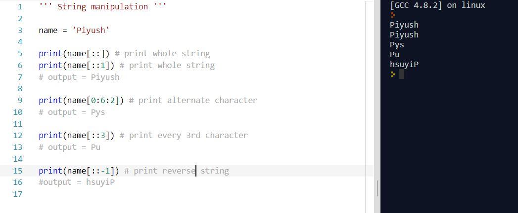string manipulation - part 2.2